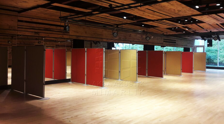 Akustik Ara Bölücü Paravan Ofis Ses Yalıtımı Malzemesi